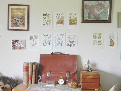 .: Wall Art, Desk Space, Wall Decor, Decor Ideas, Work Place, Anthropology Studio Apartment, Dream Spaces