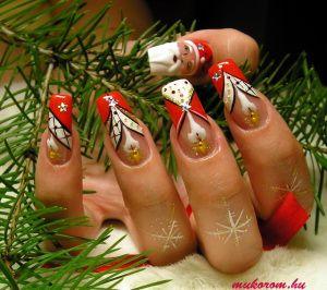 Karácsonyi műköröm minták  manikurmukorom.wordpress.com