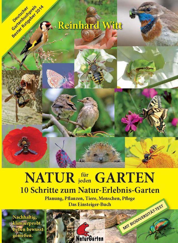Aktuelle Bücher: Naturgartenplaner Reinhard Witt