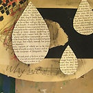 Collage with found paper