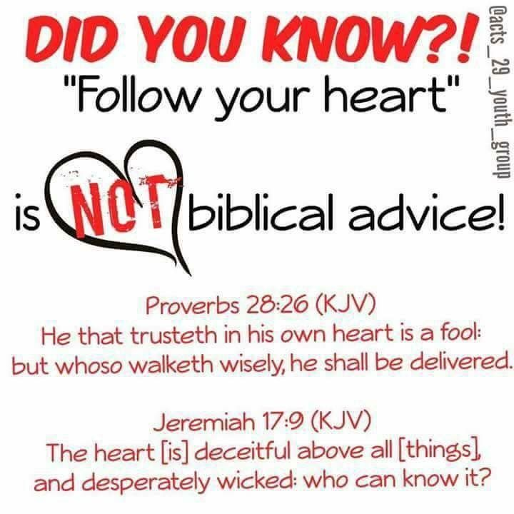 "Another famous church quote ' god knows my heart"".  As if they're sinless😕"