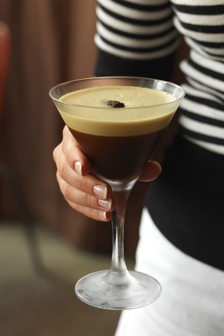 Get a jolt of java and a cocktail in one glass with this easy Espresso Martini.