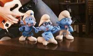 Columbia Pictures has released the first trailer for The Smurfs ...: Smurfs1 Jpg 535 326, Columbia Pictures, La La, The Smurfs