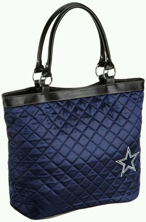 Dallas Cowboy's bag