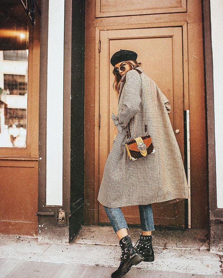 vintage fall fashion | casual chic | preppy | coat | autumn style | outfit inspiration |