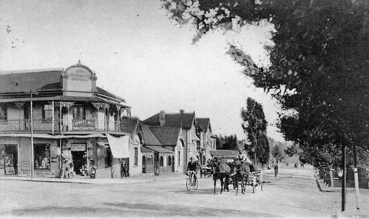 Harrison Street, 1890s. (With acknowledgement to Friedel Hansen)