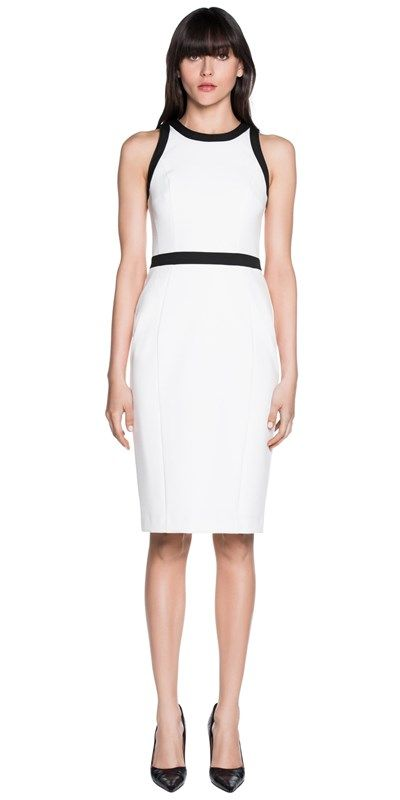 Dresses | Tech Stretch Sleeveless Fitted Dress