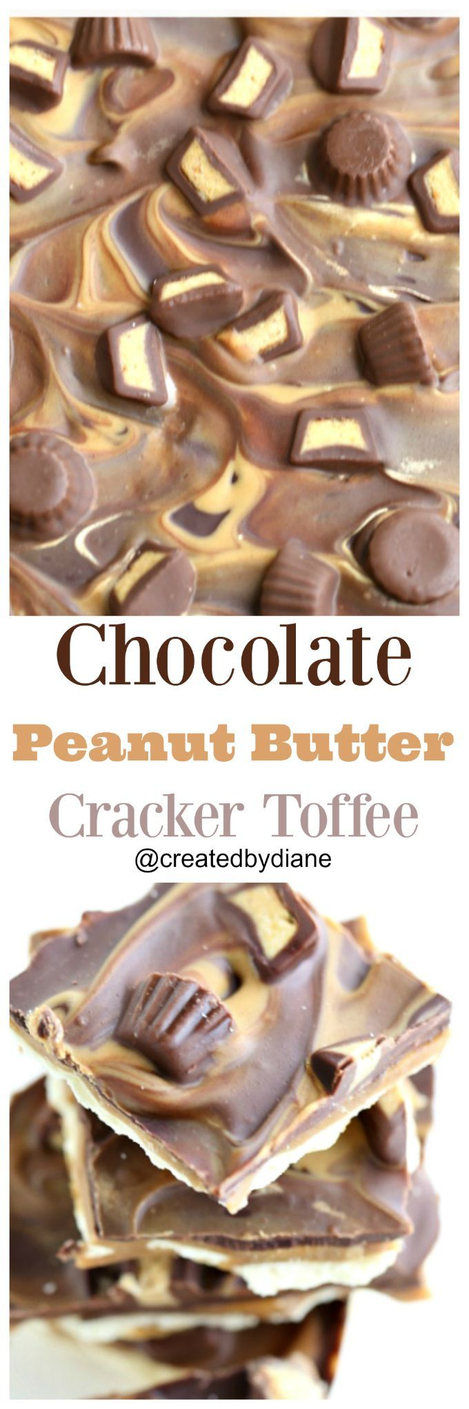 chocolate and peanut butter slathered over toffee is the ultimate reese's lovers delight