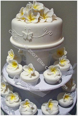 Image Detail For Frangipani Wedding Cake Pictures