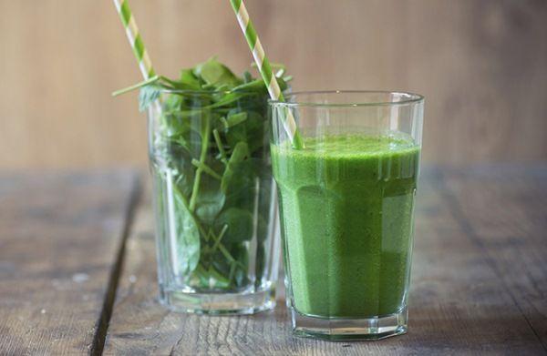 Egy finom zöld smoothie receptje