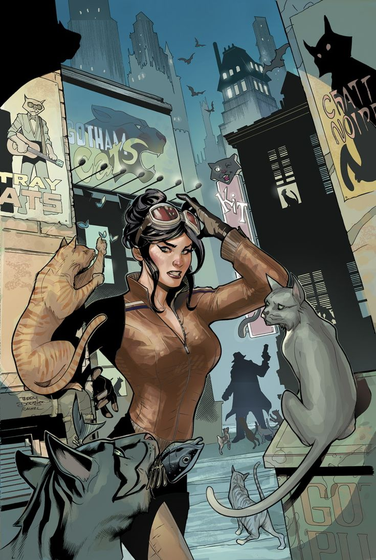 CATWOMAN #25  Written by JOHN LAYMAN  Art by AARON LOPRESTI  Cover by TERRY DODSON and RACHEL DODSON  On sale NOVEMBER 27 • 40 pg, FC, $3.99 US • RATED T+  An untold tale of Catwoman in this tie-in to BATMAN: ZERO YEAR! Journey back to Selina's early days as a thief, and find out why she's always worked alone!