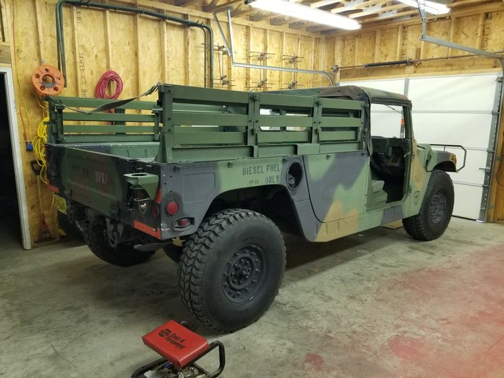 In Garage With Doors Off Starting Tear Down To Four Main Conversion Custom Cars Old Trucks