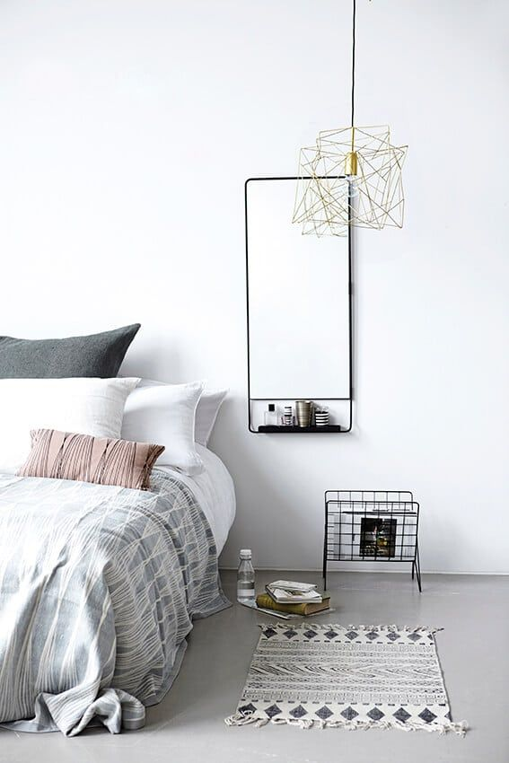 Want to really make this trend shine brightly? Then opt for a stunning geometric pendant light to illuminate your design and lighten up your look.
