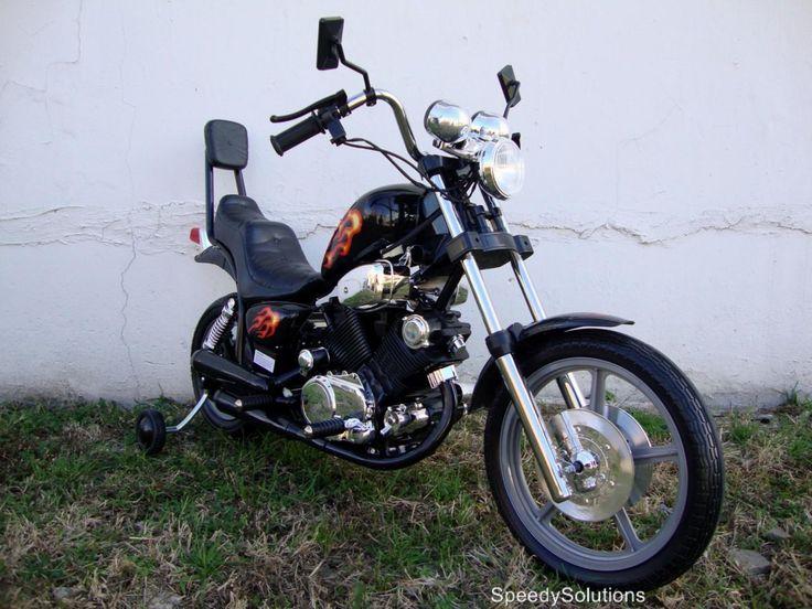 Sale Kids Electric Power Ride on Motorcycle Harley Wheels BK - SpeedySolutions