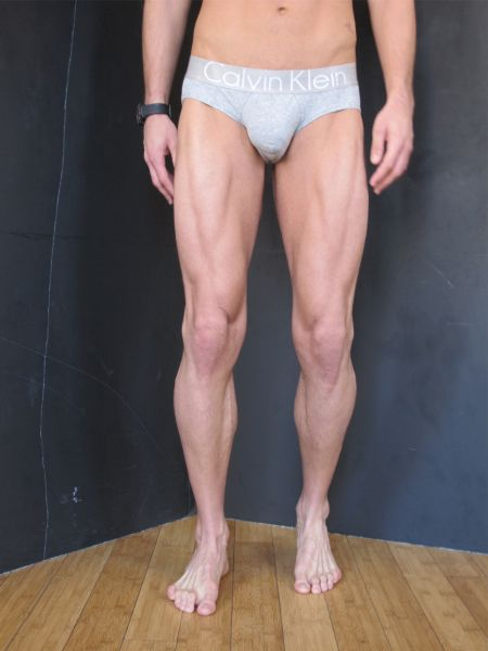Bryce Thompson. Well, his legs. Very defined for 6'3ish. You don't see that very often!