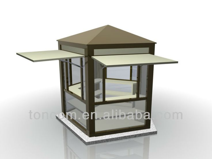 Tsh 5 outdoor food kiosk design buy outdoor food kiosk for Architecture kiosk design