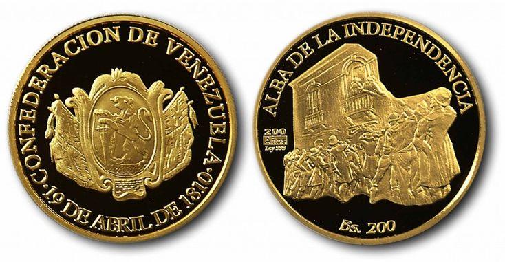 Monedas Conmemorativas del Bicentenario del 19 de Abril de 1810