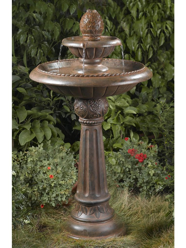 86 best Water Fountains images on Pinterest Garden fountains