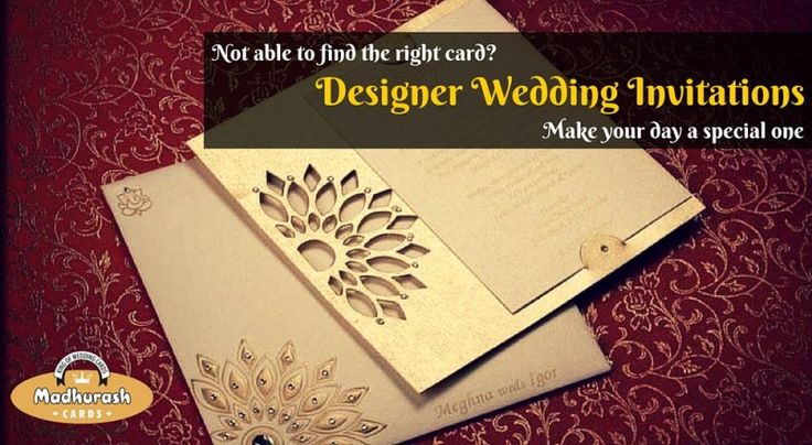 Getting Married? Looking for beautiful wedding card?  Get exclusive collection of Wedding Cards Online @ www.madhurash.com