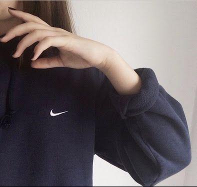Nike sweatshirt. -{Pinterest: Bowsandbonnets}-