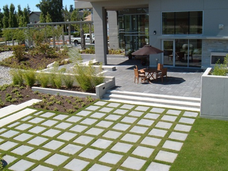 Stepping stone patio extension idea.   outside fun   Pinterest on Stepping Stone Patio Ideas id=72424