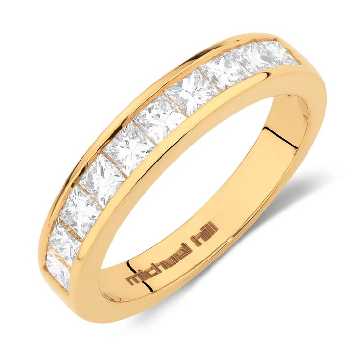 1 Carat TW Diamond Wedding Band