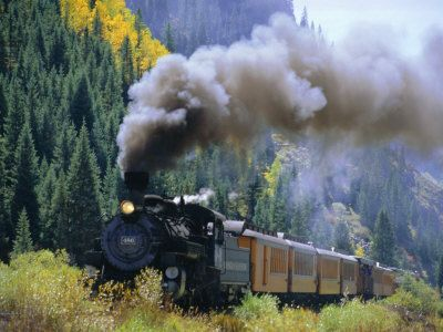 Silverton, CO. Riding the railway is a MUST if you visit.Travel Memories, Canadian Rocky, Autumn, Canadian Rockies, Colorado Moose, Durango Silverton, Training Riding, Silverton Colorado, Steam Training