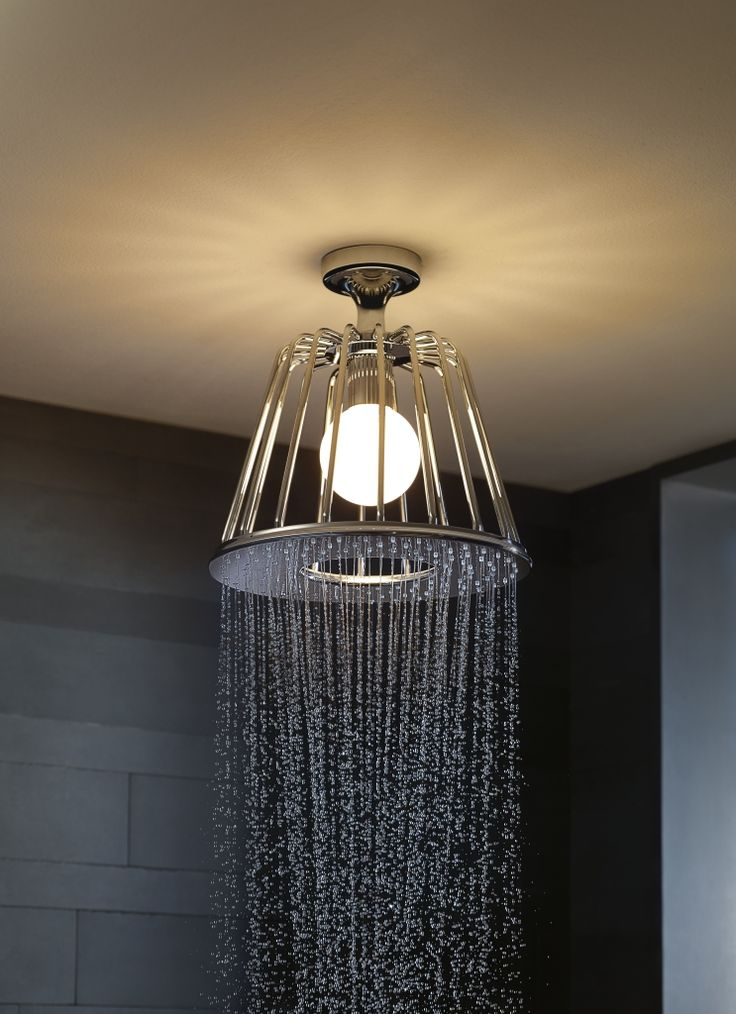 Axor LampShower designed by Nendo  More information: http://pro.hansgrohe-int.com/18900.htm