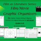 Film as Literature Graphic Organizers   by James D. Whitaker    Product/Materials Preface [Grades 5-12]:     This unique and undeniably useful product c...