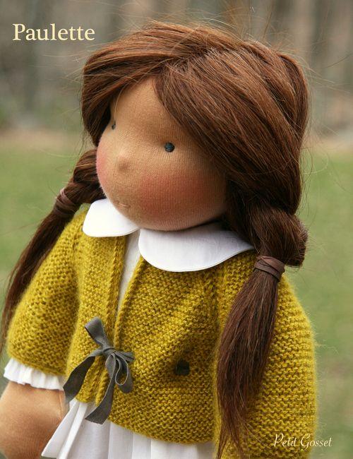 Petitgosset.com dolls are just beautiful