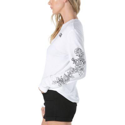 Rose Thorns Long Sleeve T-Shirt   Shop Womens Tees At Vans