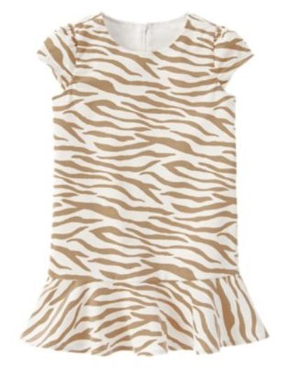 NWT! SIZE 7 NEW GYMBOREE RIGHT NOW TIGER STRIPED VELVETEEN DRESS #Gymboree #ChristmasDressyHoliday