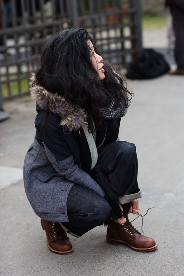 On the Street…Women in Work Boots, Florence