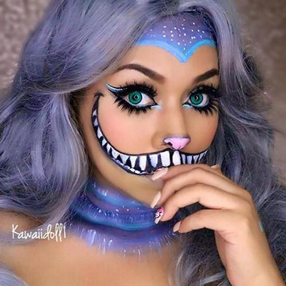 Best 25+ Easy halloween makeup ideas on Pinterest