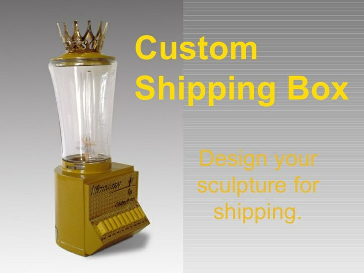 Custom Shipping Box /Design Your Work for Shipping by Harriete Estel Berman shows issues that you should consider while constructing your work in the studio. Plan ahead during the design process to avoid a shipping crisis later.