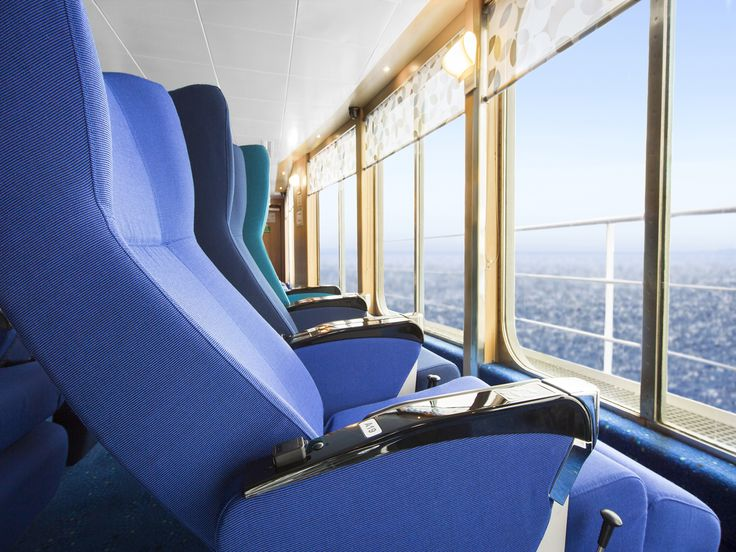 Recline in comfort, with a view that's hard to beat