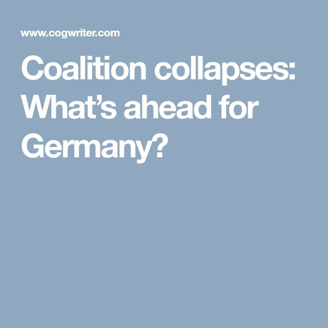 Coalition collapses: What's ahead for Germany?