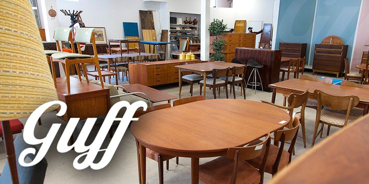 Vintage Furniture Stores in Toronto: GUFF - Focused on Mid-Century Modern and Danish Modern pieces, Good Used Furniture Finds is a gold mine for affordably-priced vintage furniture.