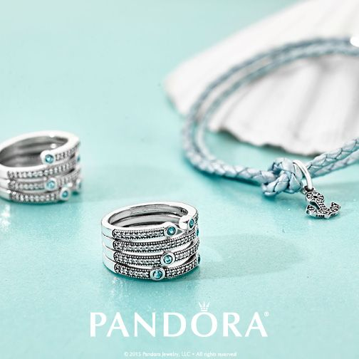 Let the ocean inspire your look this season and explore PANDORA's summer essentials. Your style will be sure to set sail!