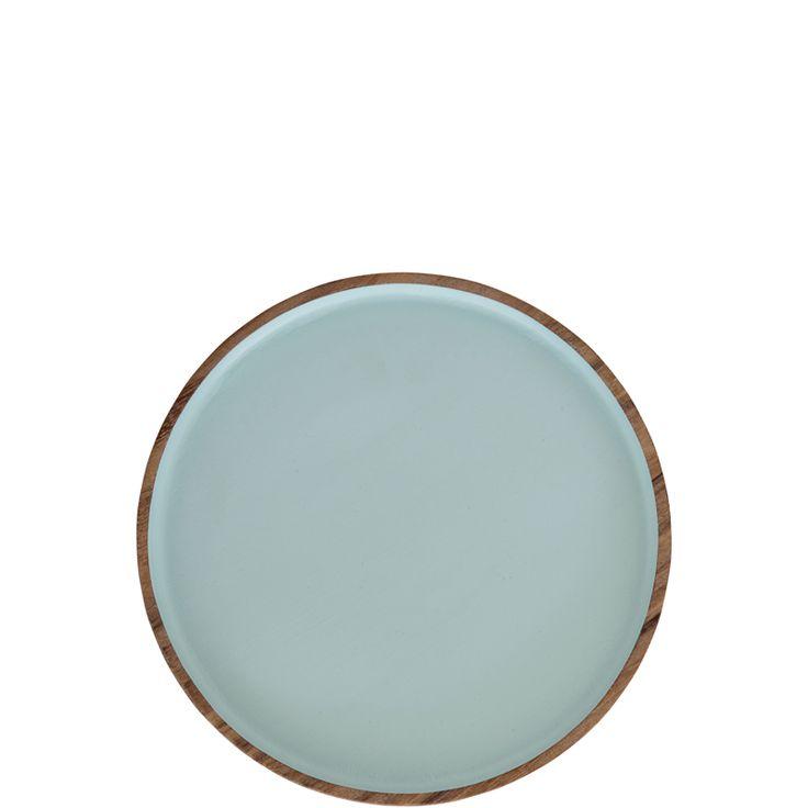Round Tray – Pastel Mint