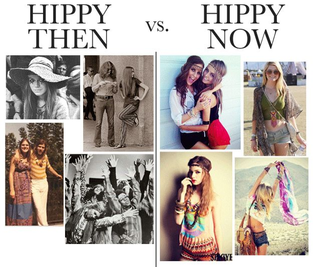 the bastardization of 5 major fashion movements hippies buzzfeed