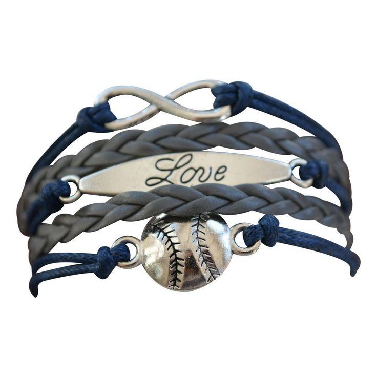 Baseball Bracelet or Softball Bracelet, Price:  $12.50