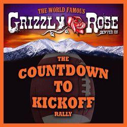 Denver Broncos - Countdown to Kickoff - Grizzly Rose - Denver Colorado