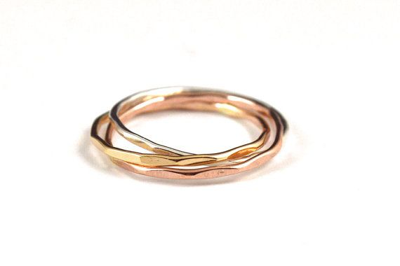 Hey, I found this really awesome Etsy listing at https://www.etsy.com/listing/238456404/tri-color-rolling-rings-interlocking