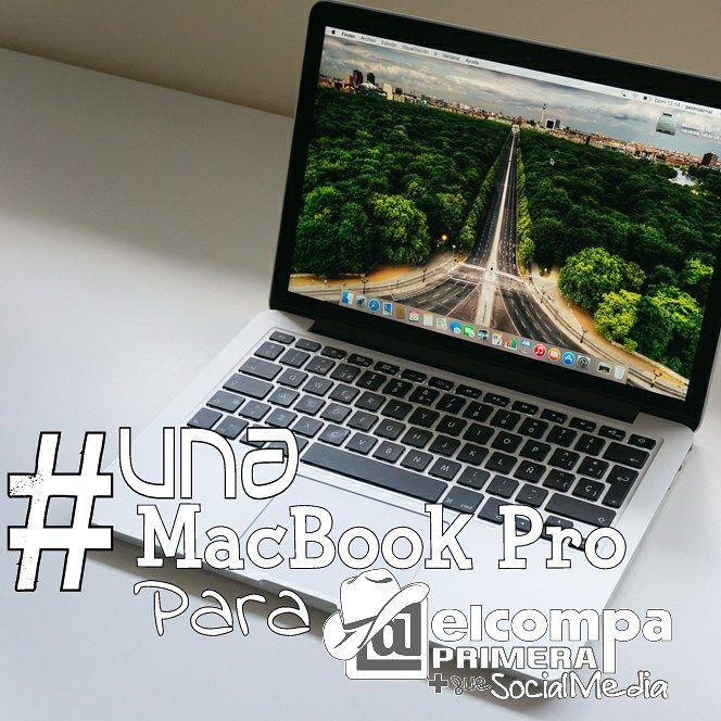 Siempre he sido muy creyente en la ley de la atracción por eso he iniciado  mi campaña #UnaMacBookParaElCompa ya que siempre he SOÑADO con tener una #MacBook. Si quieres ayudarme puedes hacerlo con un me gusta o mencionando a a tus amigos para  que me ayuden a conseguirlo. De antemano quiero darte las GRACIAS.
