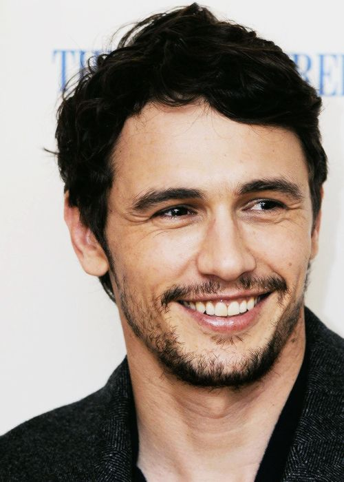 james franco..because I think he has a gorgeous smile and there is too much one direction or whatevr the feck...