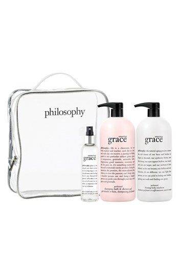 philosophy 'amazing grace' set (Nordstrom Exclusive) ($144 Value) | Nordstrom...I always stock up!