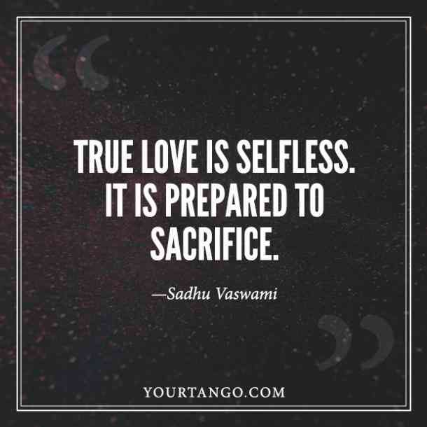 Sacrifice What Love Means Love Picture Quotes Meaning Of Love