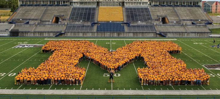 3500 students of the Montana State University class of 2020