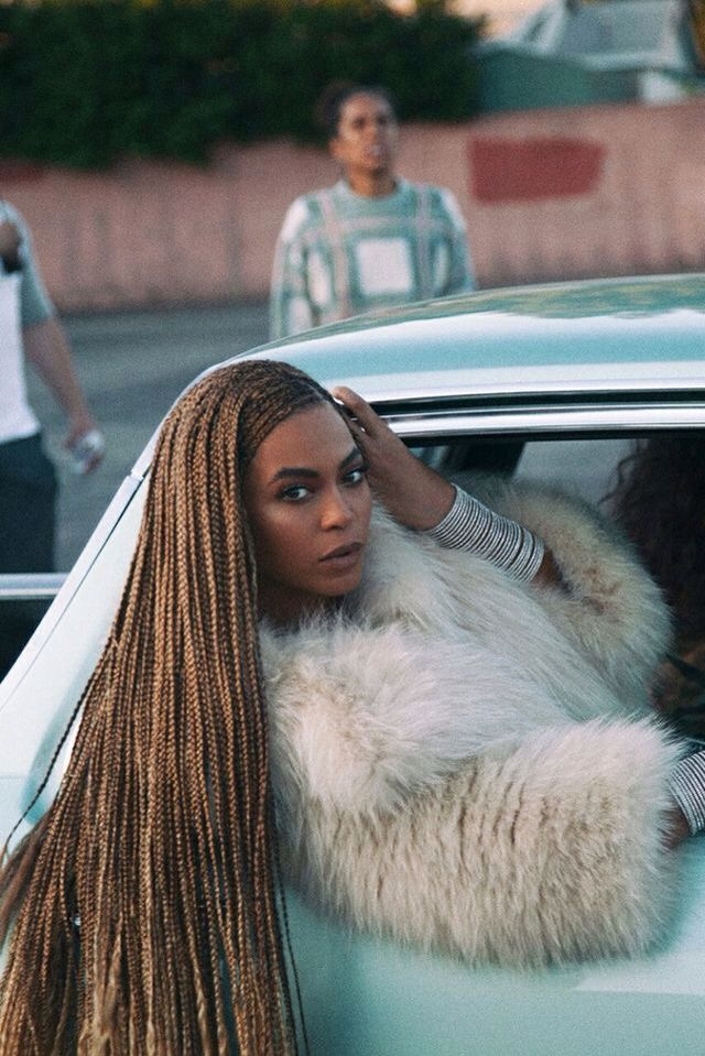 "Beyonce's hair symbolizes her link to her black heritage. The dreds are a symbol of that, which links to Chapter 1 of Berger when he says, ""a sign is something which stands to somebody for something in some respect or capacity."" This sign may mean something different to black culture in our sociarty than it does to the white culture. The signs are arbitrary without the definition and context behind them."